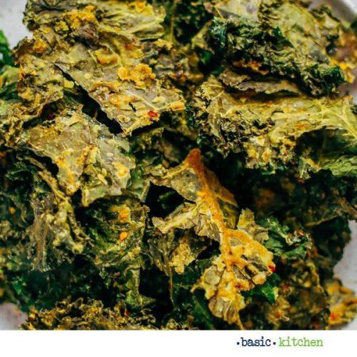 garlic and lemon kale